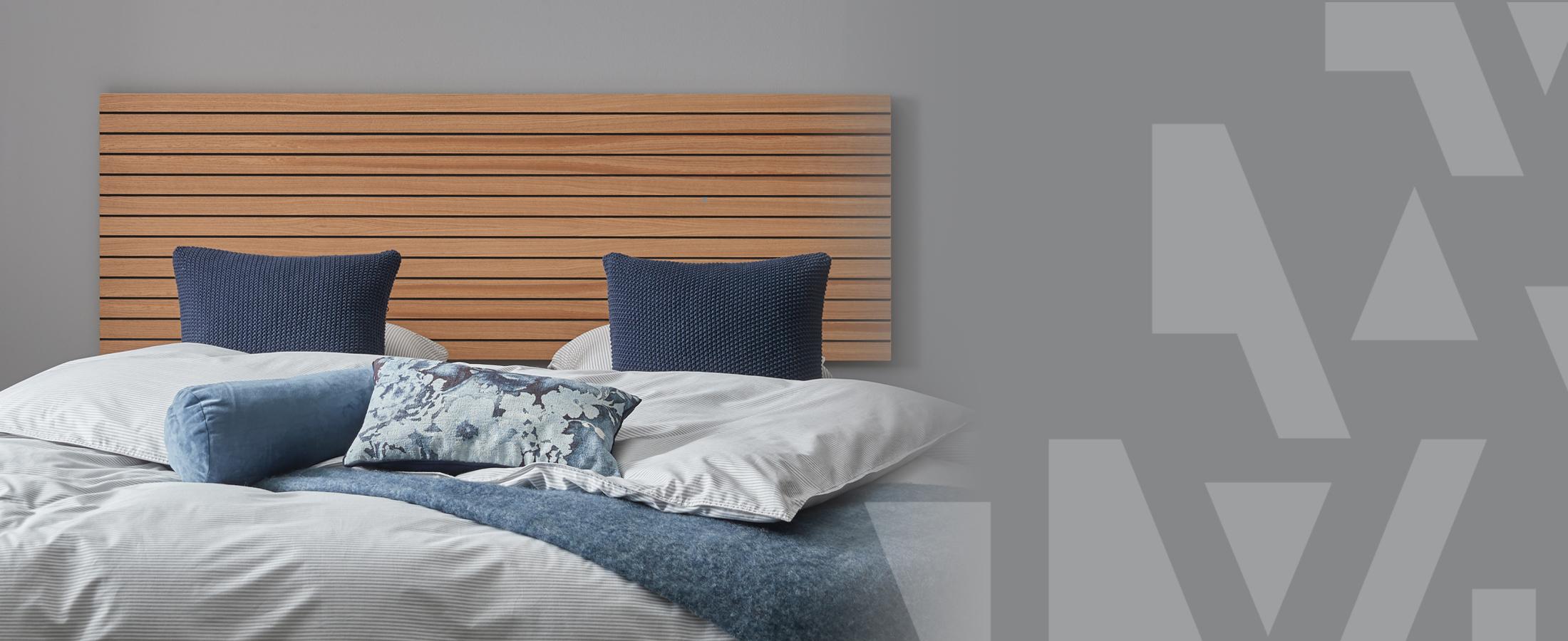 3 sengegavle der fuldender soveværelset