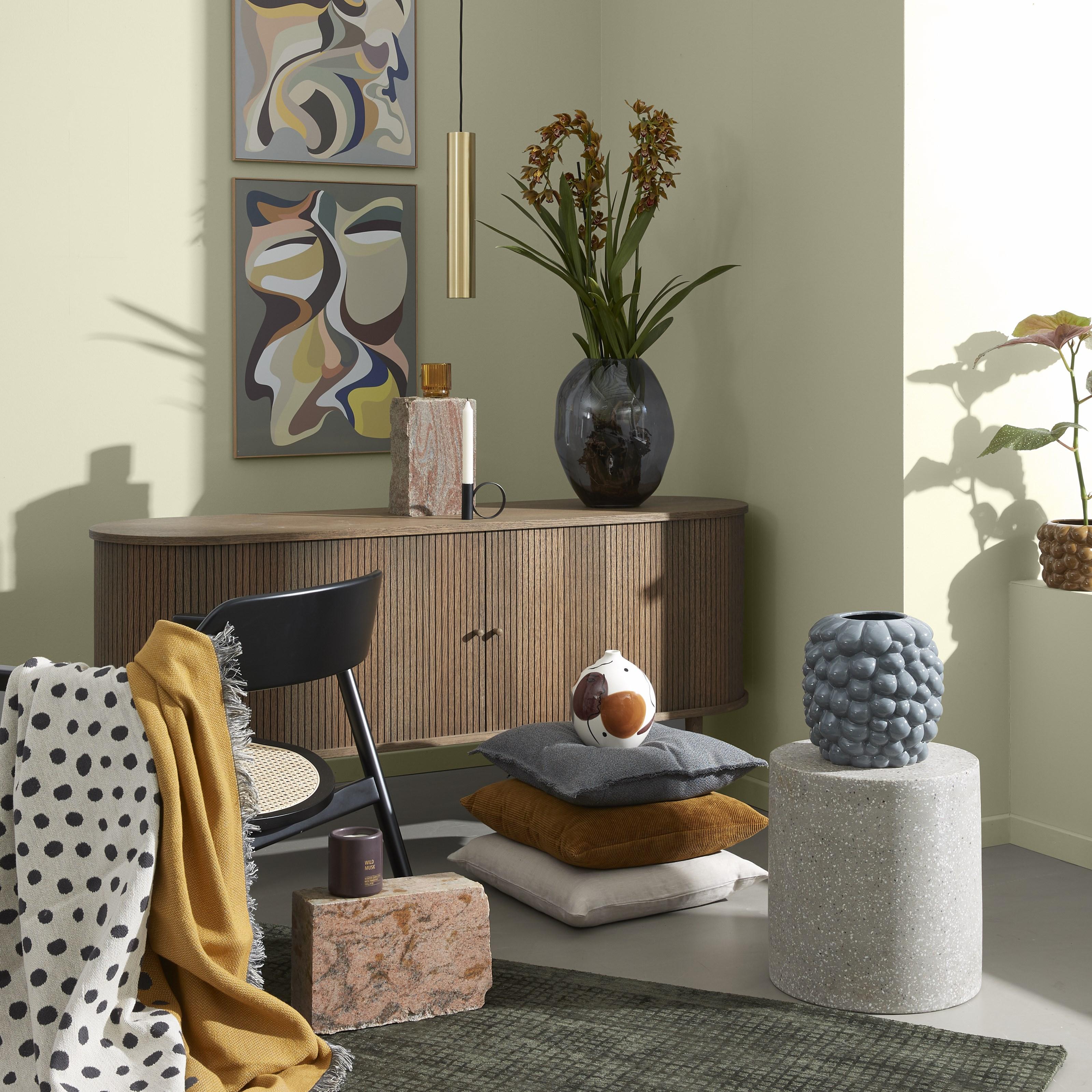 Farverig 50'er-stil i indretningen