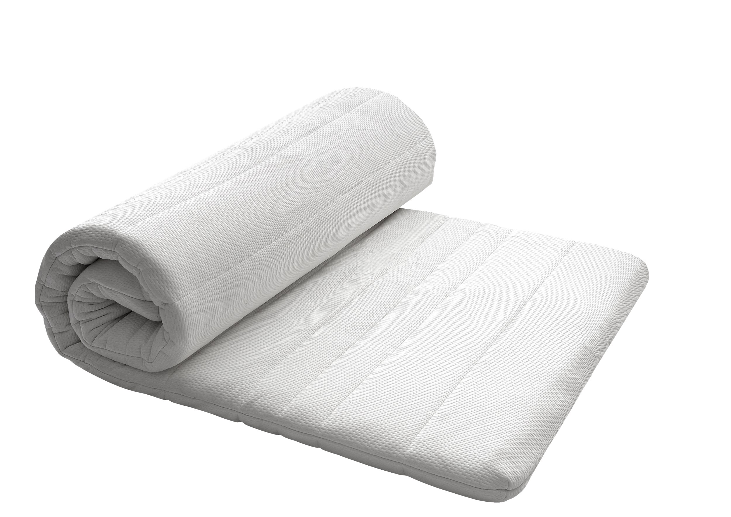 Nocturne Sleep Ultimate Topmadras 90 x 200 x 8 cm - T500 betræk og 5 cm latex