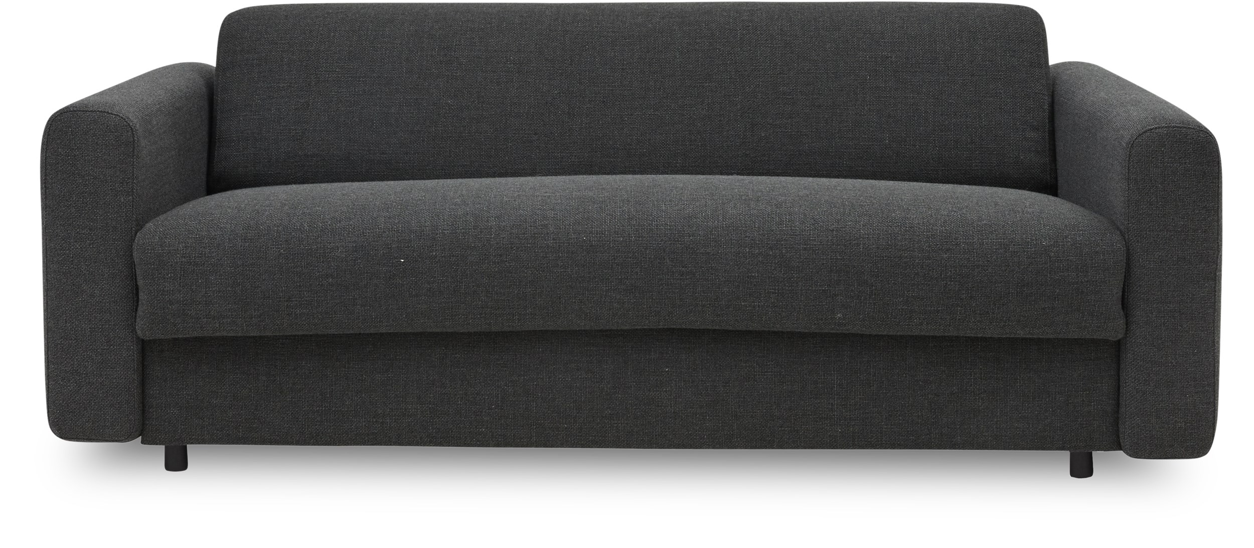 Innovation Living - Killian Sovesofa - Kenya 577 Dark Grey, 5 zonet multipocketspring madras og sorte træben