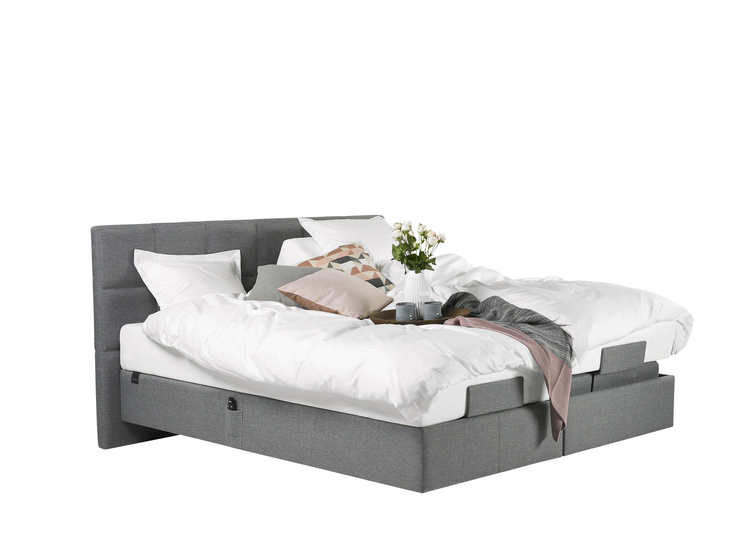 Tempur Spring Box Adjustable Elevationsseng 180 x 200 cm
