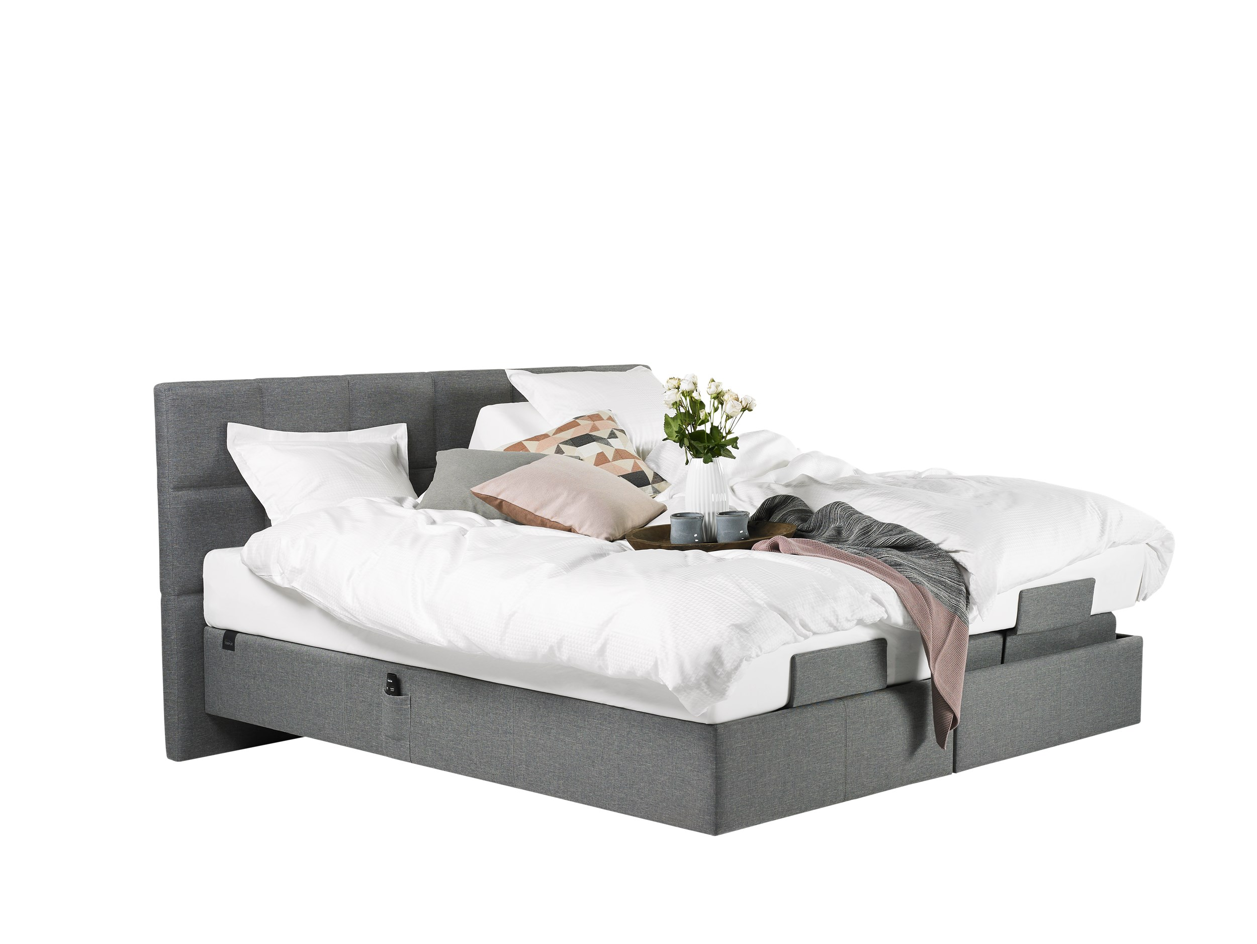 Tempur Spring Box Adjustable Bokselevationsseng 180 x 200 cm - Bokselevationsseng 180 x 200 cm