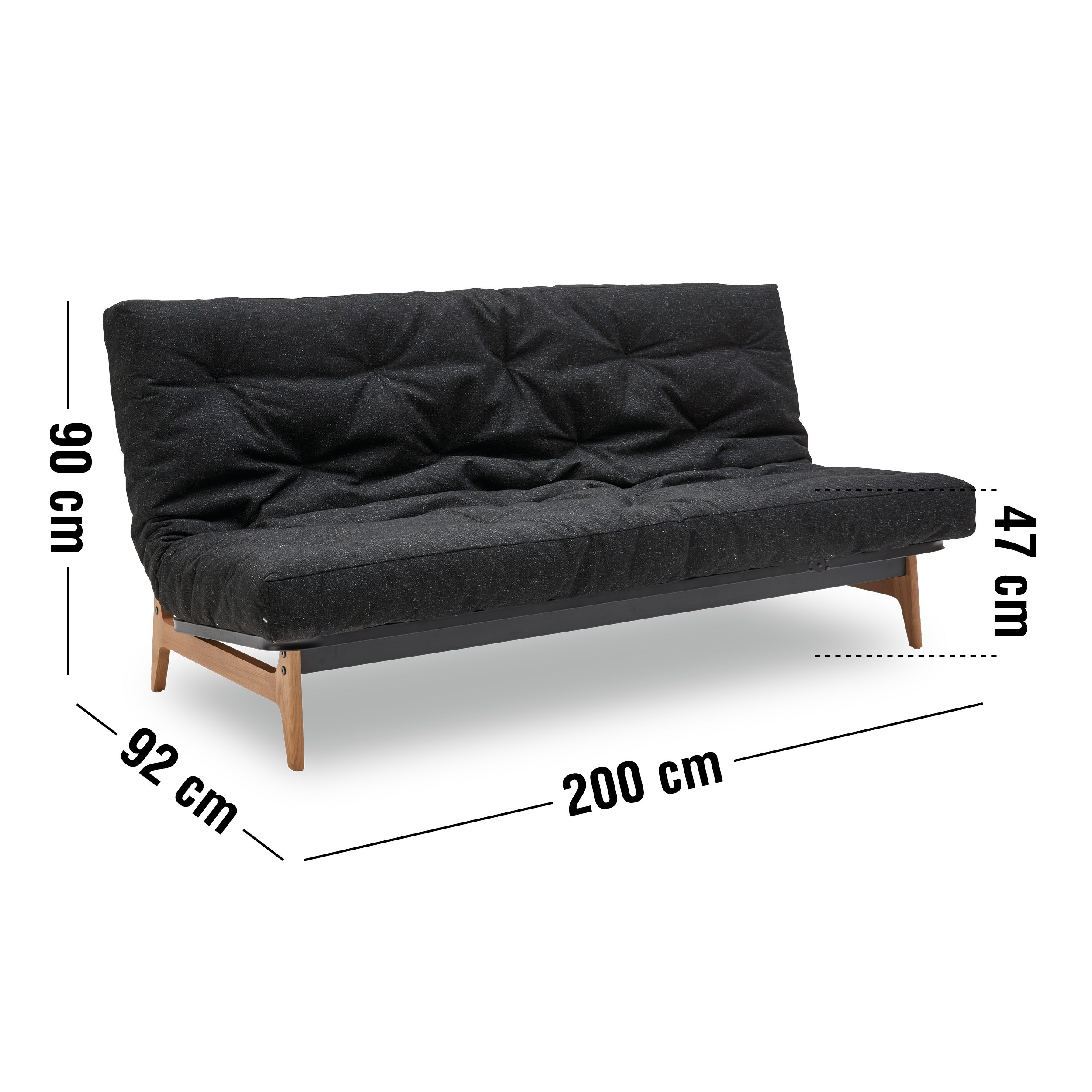 Innovation Living - Aslak Spring Round Sovesofa
